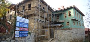 Cumalıkızık'taki restorasyon çalışmaları