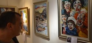 Denizlili Ressamlar Marmaris'te 3. kez sergi açtı