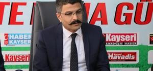 Türk Eğitim-Sen Kayseri 1 No'lu Şube Başkanı Muharrem Çolak: