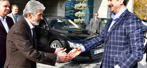 Adalet Bakanı Gül'den Tuna'ya ziyaret
