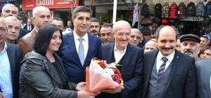 Kafaoğlu Büyükşehir Belediye Başkanı olarak ilk kez Bandırma'da