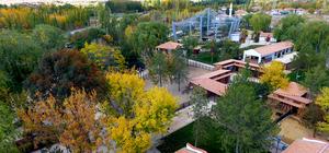 Tarihi kent Kırşehir'de sonbahar güzellikleri