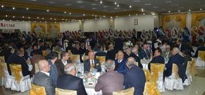 Bakan Tüfenkci  TSO Başkanı Erkoç'un  kızının düğününe katıldı