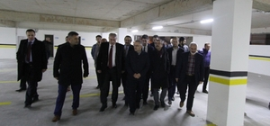 Bakan Ağbal'dan Belediyeye teşekkür