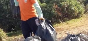 Milli Park çöplerden temizleniyor
