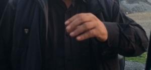 Zeytin yüklü tırla kaçan sürücü yakalandı