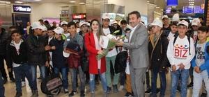 Hakkarili öğrenciler Beyoğlu'nu gezdi
