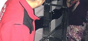Burhaniye'de asansörde mahsur kalan kadını itfaiye kurtardı