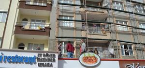 Aksaray'da 4. kattan düşen kadın yaşamını yitirdi