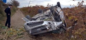 Manisa'da trafik kazaları: 1 ölü, 6 yaralı