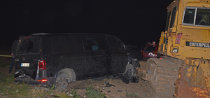 Giresun'da trafik kazası: 1'i polis 4 yaralı