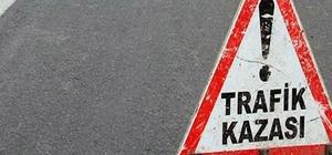 Uşak'ta trafik kazası; 1 ölü, 4 yaralı