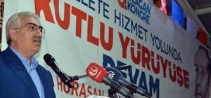 Erzurum AK Parti'de 4 ilçenin 6. Olağan Kongresi yapıldı