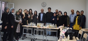İpekyolu Belediyesinden 'Kozmetik Üretim ve Çevre Bilinci' eğitimi