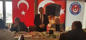 Türk Sağlık - Sen Eskişehir Şubesi delegeleri kahvaltıda buluştular