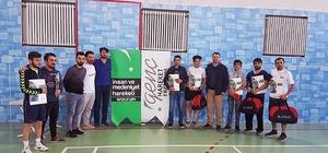 Öğrenciler, 'Genç Hareket' masa tenisi turnuvasında buluştu