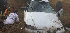 Kırkağaç'ta trafik kazası: 2 yaralı