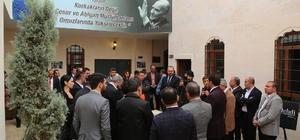 Eyyübiye Belediye Başkanı Mehmet Ekinci gazetecileri ağırladı