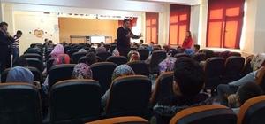Çavdarhisar'da öğrencilere polislik mesleği anlatıldı