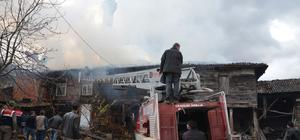 Kütahya'da ev yangını: 1 ölü