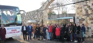Eskigediz Belediyesi'nden İzmir'e kültür gezisi