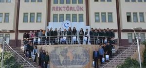 Fatih Anadolu Lisesi öğrencileri Adıyaman Üniversitesini gezdi