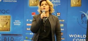 Türk eczacıya Fransa'dan altın madalya