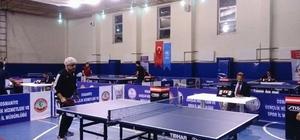 Osmaniye'de Masa Tenisi Turnuvası