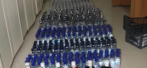 Yozgat'ta 782 şişe kaçak içki ele geçirildi