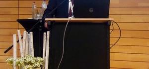 """Başkan Erkoç, Belçika'da """"Şehirler ve Küresel Göç"""" konferansına katıldı"""