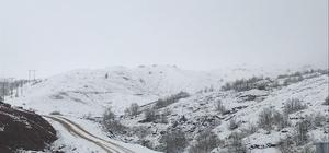 Bingöl'e ilk kar düştü