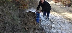Alaşehir Dağarlar Mahallesi tarımsal sulamaya kavuşuyor