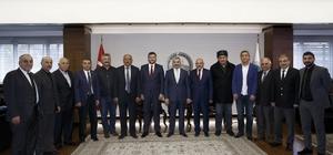 Başkan Çelik, MHP İl Başkanı Ersoy ve MHP'nin meclis grubu ile görüştü