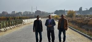 Horozköy dere boyunda kilit parke çalışması
