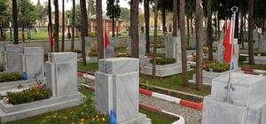 Şehit Mezarları yenileniyor