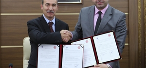CÜ ile Gürcistan Üniversitesi arasında spor işbirliği protokolü
