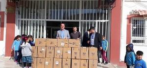 Nurdağı'nda ilkokula 20 adet bilgisayar hediyesi
