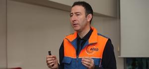 Deprem Müzesi'nde deprem bilinci eğitimi verildi