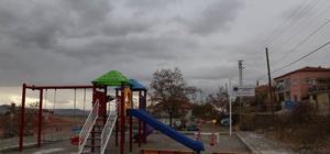 Oniki mahallede başlatılan park çalışmasında sona gelindi