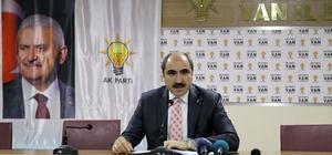 AK Parti Van İl Başkanı Soğanda istifa etti