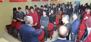 Başkan Polat öğrencilere deneyimlerini anlattı