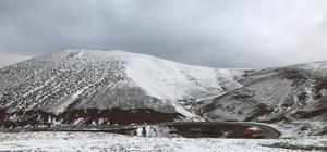 Giresun'da kar yağışı