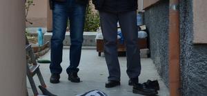 Karaman'da çatıdan düşen kişi yaşamını yitirdi