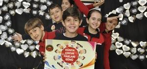 Çocuk haklarına GKV'li öğrencilerden tam destek