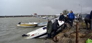 Zonguldak'ta sağanak ve rüzgar