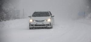Yurtta kar yağışı