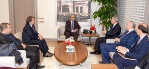 Tarım Bakanlığı heyetinden Vali Demirtaş'a ziyaret