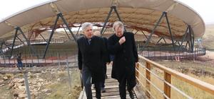 AB büyükelçileri Göbeklitepe'yi gezdi