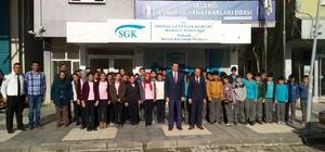 Selendi'de öğrenciler SGK'yı tanıdı