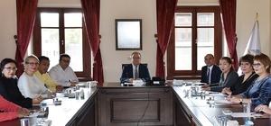 Afyonkarahisar'da turizm değerlendirme toplantısı yapıldı